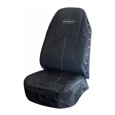 Black/Black Seat Coverall